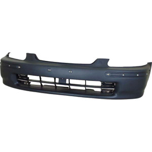 Honda Civic Mk6 Front Bumper Ej Ek 1996 1998 Hatchback Sedan New Primed