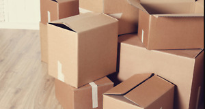 Cardboard Boxes Moving Shipping Packing Storage Mail Multiple Sizes Pack Lot Qty