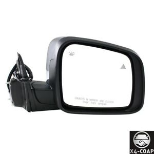For Jeep Grand Cherokee Front right Passenger Side Door Mirror Ch1321359 New