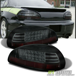 Upgrade Black Smoked 1997 2003 Pontiac Grand Prix Lumiled Led Tail Lights Lamps