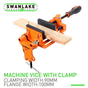 4 Drill Press Vise Table Bench Wood Metal Holder Heavy Duty Iron Clamp