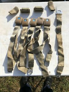 1968 Chevelle Bench Seat Belts 15f68