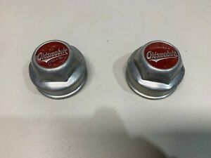 Vintage Oldsmobile Grease Caps 2 1920 s 30 s nice