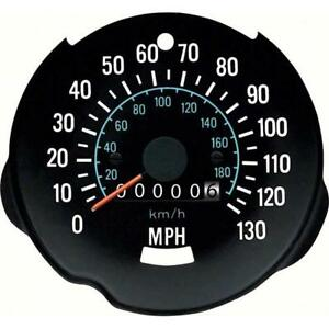 Oer 8987263 Reproduction 130 Mph Speedometer 1970 78 Chevy Camaro