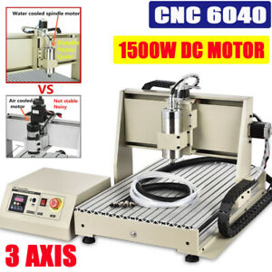Cnc 6040z 3 Axis Router Engraver Drilling Milling Machine 1 5kw Woodworking