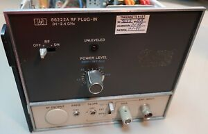 Hp 86222a Sweep Generator Module Clean Free Shipping