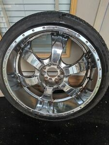 22 Inch Chrome Rims And Tires
