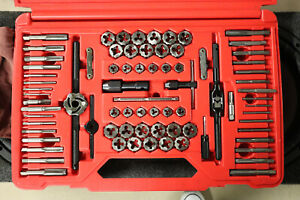 Qc Snap On Tdtdm500a 76 Piece Metric Sae Tap And Die Set In Case