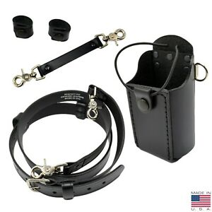 Perfect Fit Firefighter Bundle Radio Holder Anti sway Radio Strap Cord Keeper