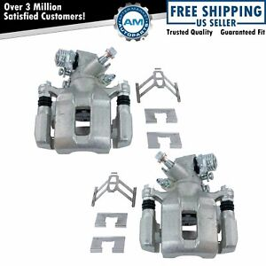 Rear Disc Brake Caliper Pair Set Lh Rh Sides For Honda Civic Acura Rsx