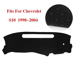 Car Dashmat Dashboard Cover For Chevrolet S10 1998 1999 2000 2001 2002 2003 2004
