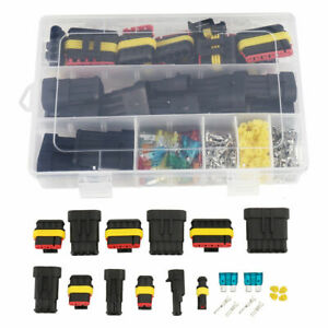 1 6 Pin Electrical Wire Connector Plug Set Waterproof Automotive Seal Plug Kit