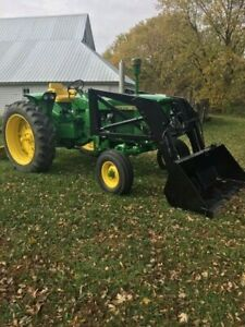 John Deere 2510 Wide Front Gas With Westendorf Loader And Jd Blade
