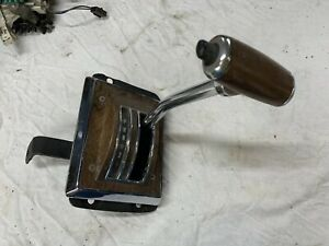 75 78 1975 1978 Ford Mustang Ii Automatic Floor Shifter Assembly Woodgrain Oem