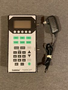 Sadelco Displaymax 5000 Signal Level Meter W Power Supply