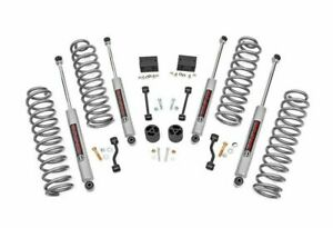 Rough Country 2 5 Suspension Lift Kit For Jeep Wrangler Jl 2018 2019 Unlimited