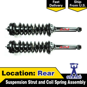 Focus Auto Parts Rear 2pcs Suspension Strut And Coil Spring Assembly For Cr V