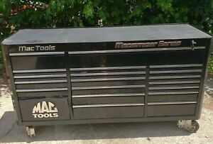Mac Tools Triple Bank Macsimiser Series Tool Box Model Mb1880 bk