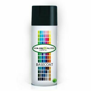 Black Aerosol Touch Up Paint 12oz For Ppg B701