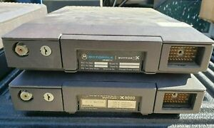 Vintage Motorola Syntor Lot Base Units Only Lot Of 2 Used Untested Parts Repair