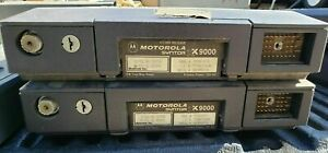 Vintage Motorola Syntor Lot Base Units Only Lot Of 2 Used Untested For Parts