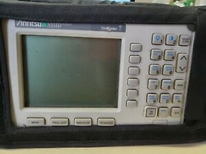 Anritsu S331d Site Master Cable Antenna Analyzer Options