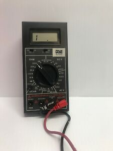 Dick Smith Electronics Vintage Lcd Multimeter Ac dc Volt Ma And Ohm Meter