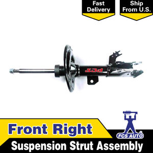 Focus Auto Parts Front Right 1pcs Suspension Strut Assembly For Camry