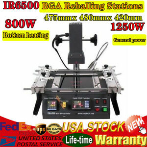 Ir pro sc Ir6500 Infrared Bga Rework Station For Motherboardsk Reballing Kits