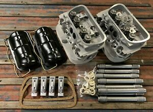 Vw Aircooled 1600 Top End Kit Heads Tubes German Seals Valve Covers Bales