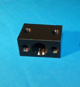 1 2 10 Acme Delrin Nut Block Rh For Acme Threaded Rod 5 start Cnc 3d 3 Pcs