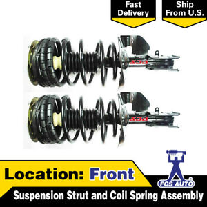 Focus Auto Parts Front 2pcs Suspension Strut And Coil Spring Assembly For 6000