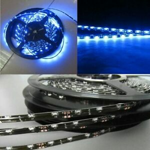 Blue Side Emitting Led Strip Light 5m 300leds 335 Smd Slim Neon Contour Lamp 12v