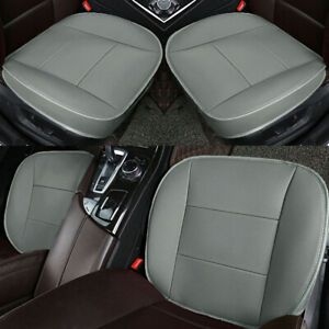 Universal Auto Car Front Seat Cover Breathable Pu Leather Cushion Protector Mat