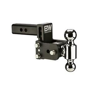 B W Trailer Hitches Tow Stow 2 Inch Receiver Hitch Black Ts10033b