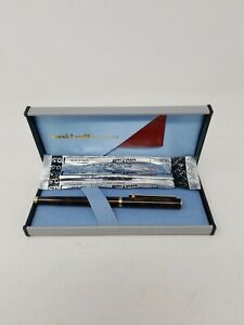 Vintage Uni ball Exceed Rollerball Pen 1980 s W Case And Extra Pen Refill