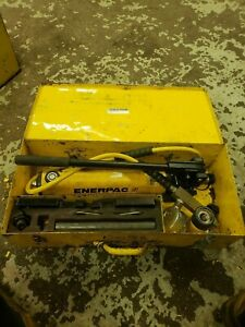 Enerpac 10 Ton Flange Spreader Kit With Pump And Gauge