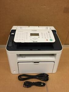 Canon Faxphone L100 Fax Machine F162002 Used Missing Handset And Cord