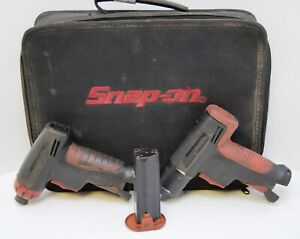 Snap On Tools Screw Driver Impact Wrench Bundle Cts561cl Ct561 In Case 4 3