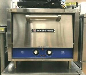 Countertop Double Stone Deck Pizza Bake Oven Bakers Pride