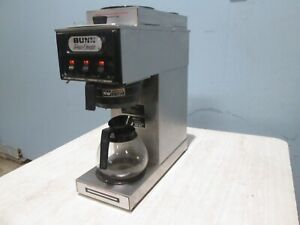 bunn S H d Commercial nsf pour over Coffee Brewer W 3 Pot Warmers