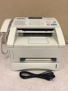 Brother Intelli fax 4100e Laser Fax Machine And Copier W toner Working