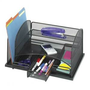 Onyx Organizer In Black W 3 Drawers id 36924