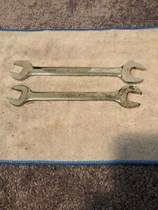 Snap On 2pc Wrench Set Vom2124 21 24 Vo2628 13 16 7 8