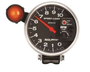 5in Sport Comp Monster Tach W Shift Light