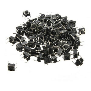 Geekcreit 2000pcs Mini Micro Momentary Tactile Tact Switch Push Button Dip P4 No