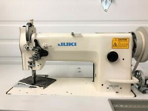 Juki Dnu 241h Walking Foot Big Bobbin rev 110v Servo Industrial Sewing Machine