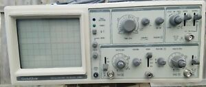 Goldstar Os 9020a Two Channel Oscilloscope 20 Mhz Powered On