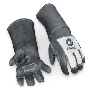 Miller Classic Pigskin Mig Gloves With 6 Inch Cuff x large 279876