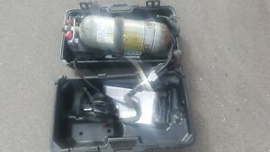 Isi Viking Dxl 4 5 High Pressure Scba Pack With Hud s Tank Year 2010